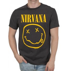 Amplified Amplified ® T-Shirt Nirvana Smiley Face
