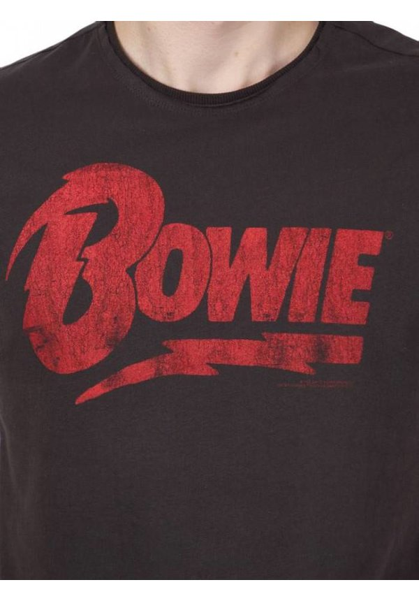 ® T-Shirt David Bowie Logo