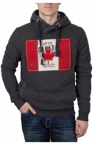 Camp David Camp David ® Hoodie sweatshirt Flag Artwork