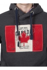 Camp David ® Hoodie sweatshirt Flag Artwork