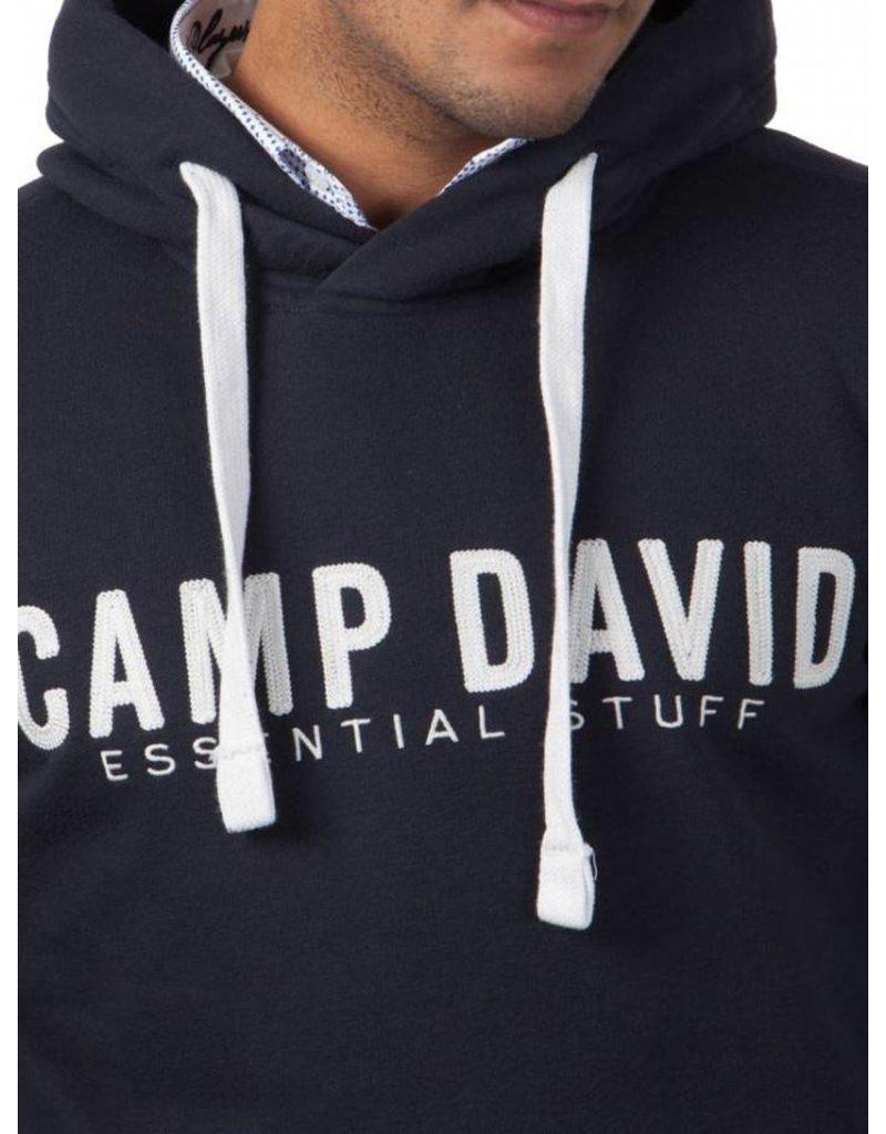 Camp David ® Hoodie logo Embroidery