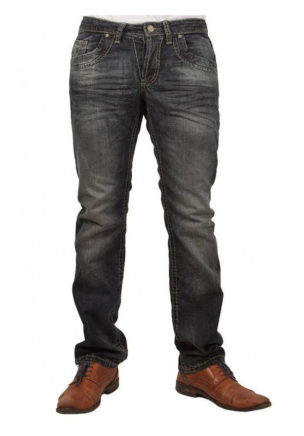 ® Jeans Used-Look Regular Fit