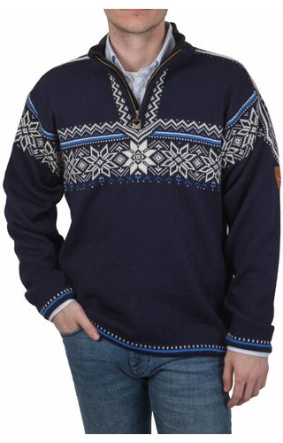 Dale of Norway Dale of Norway ® Pullover Holmenkollen, Donkerblauw