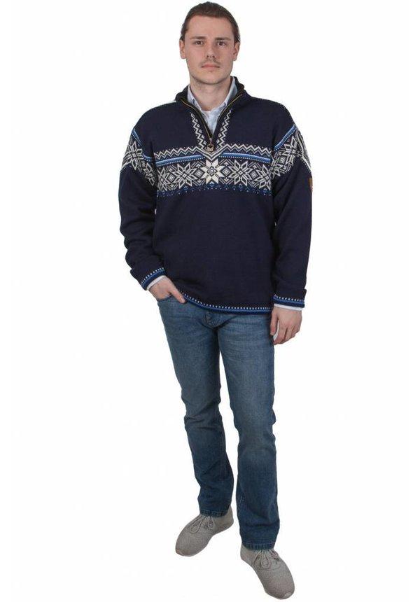 ® Pullover Holmenkollen, Donkerblauw