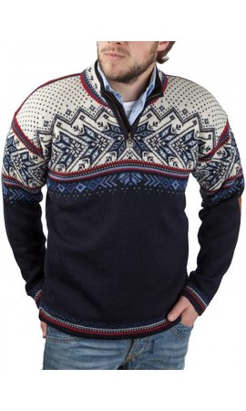 Dale of Norway Dale of Norway ® Pullover Vail, Donkerblauw