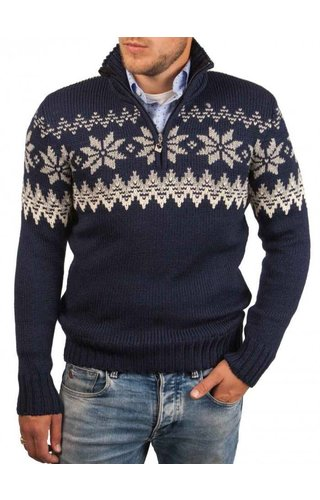 Dale of Norway Dale of Norway ® Pullover Myking, Donkerblauw