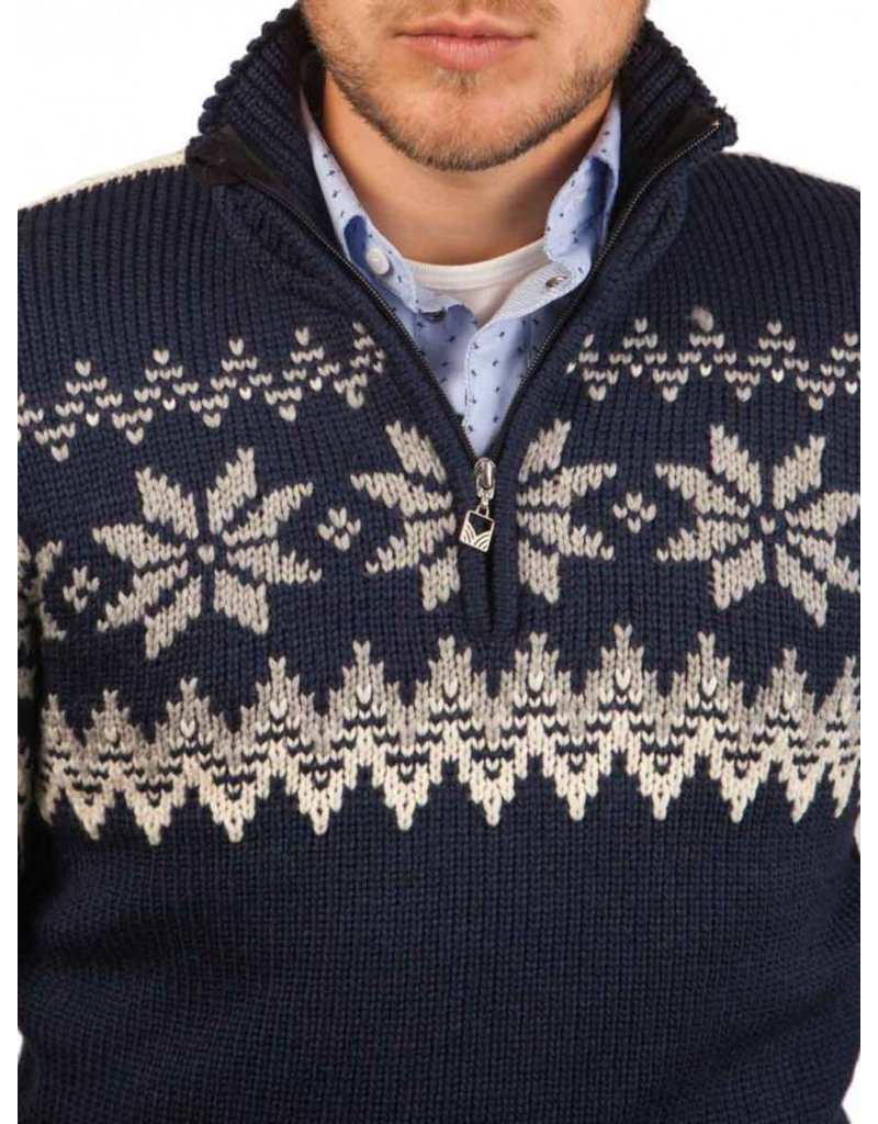Dale of Norway ® Pullover Vail, Pullover Myking, Donkerblauw