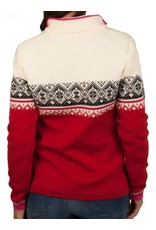 Dale of Norway ® St.Moritz Dames Pullover, rood/wit