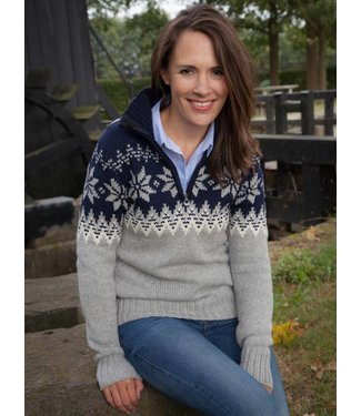 Dale of Norway Dale of Norway ® Myking Trui, donkerblauw/grijs