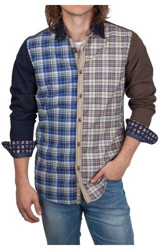 Lucky de Luca Lucky de Luca ® Shirt Patchwork