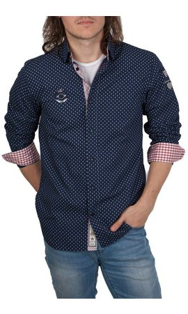 van Santen & van Santen van Santen ® Overhemd VSP, donkerblauw