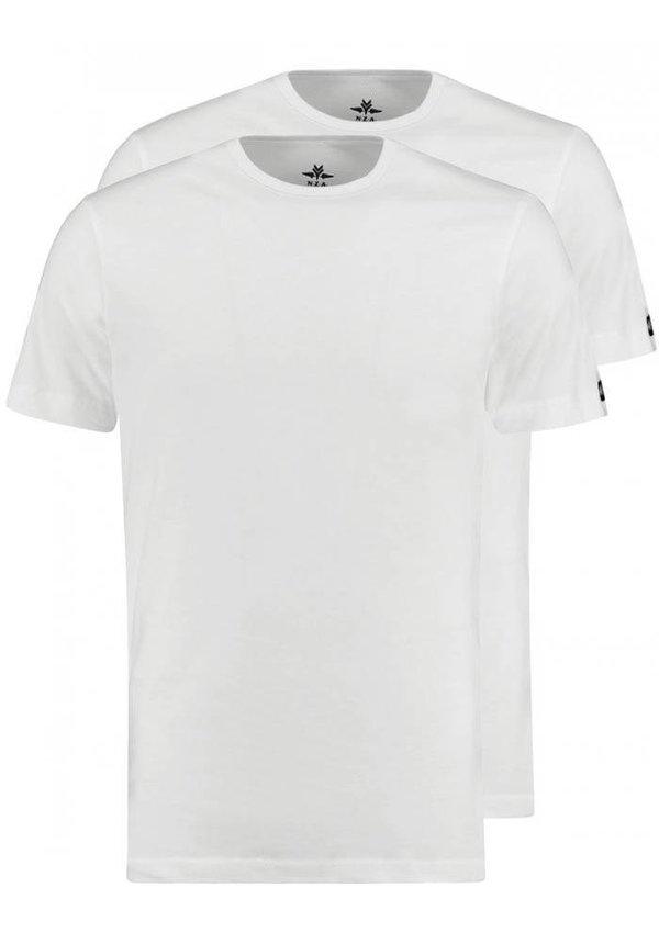® 2-Stuks T-shirts met ronde hals