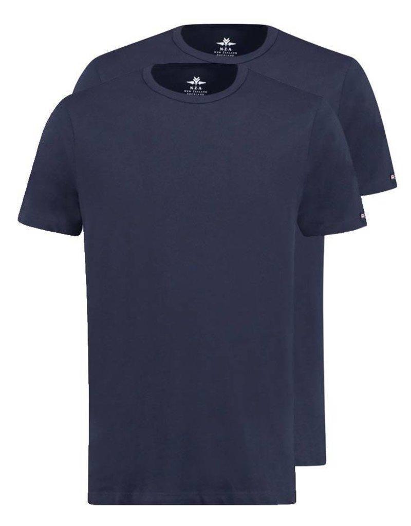 NZA - New Zealand Auckland ® 2-Stuks T-shirts met ronde hals