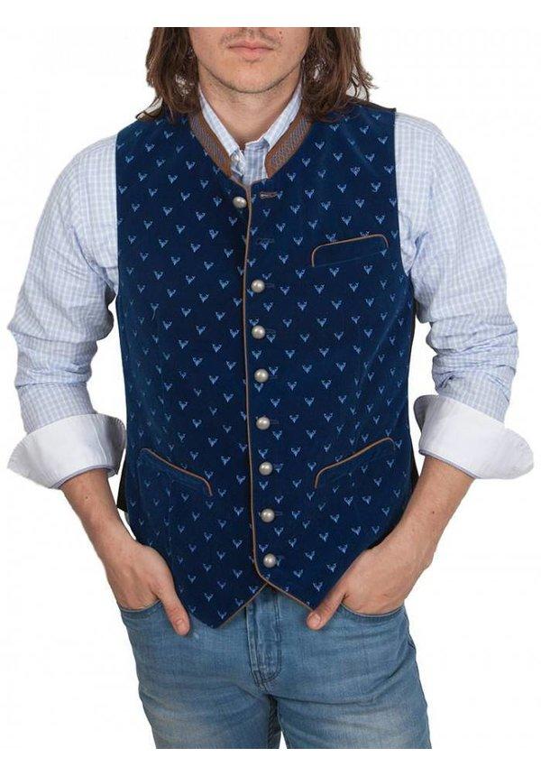 ® Vest traditioneel Blauw