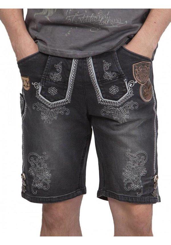 ® Jeans Lederhose stijl Anthracite