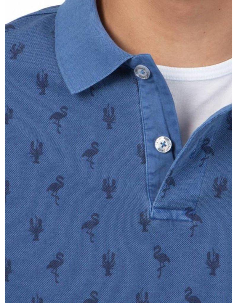 Camp David ® Poloshirt All Over Print