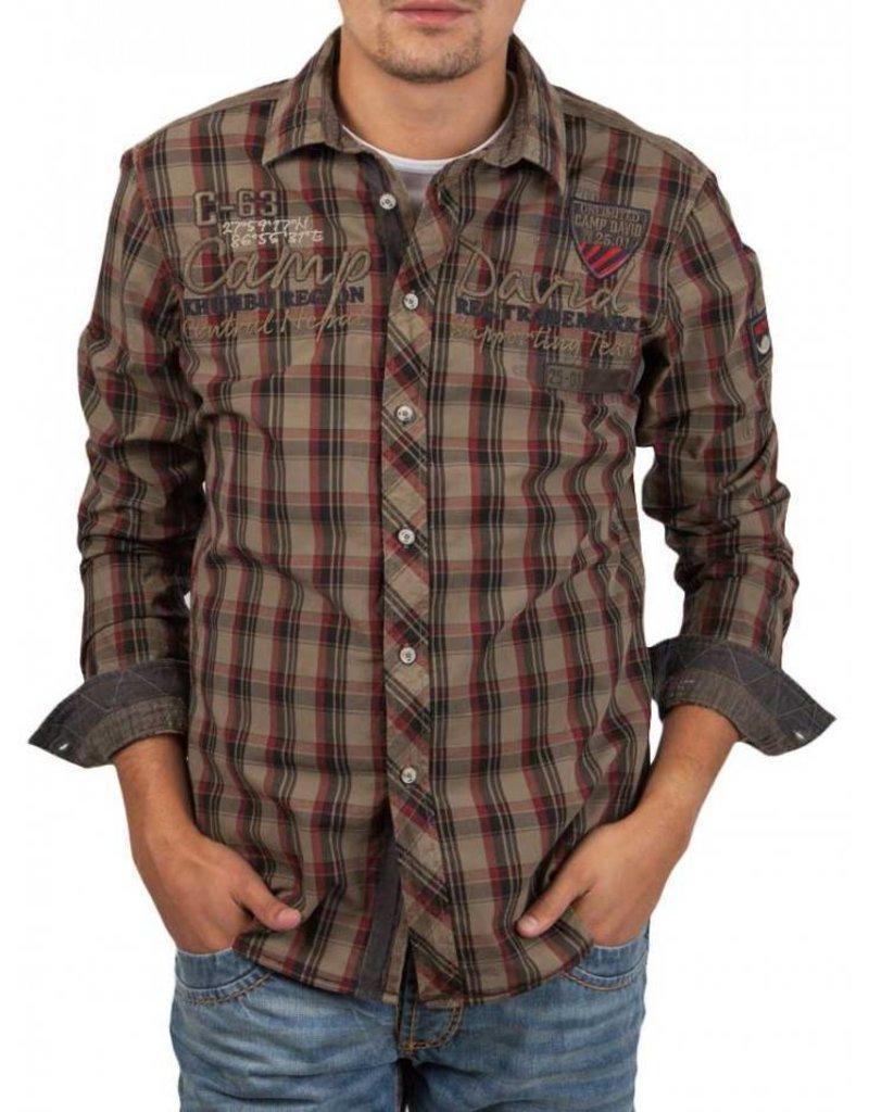 Camp David ® Shirt check C-63