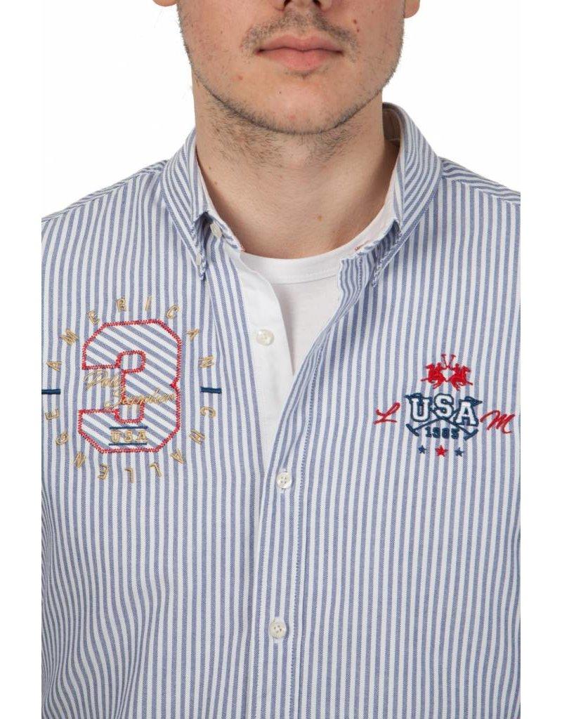 La Martina ® Oxford Overhemd USA