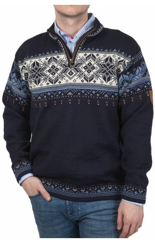 Dale of Norway Dale of Norway ® Pullover Blyfjell, Donkerblauw