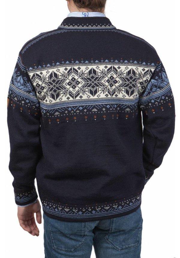 ® Pullover Blyfjell, Donkerblauw