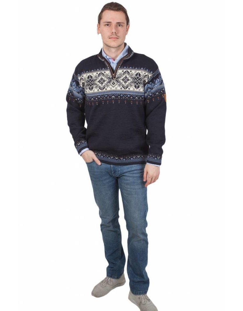 Dale of Norway ® Pullover Blyfjell, Donkerblauw