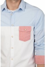 Colours & Sons ® Overhemd Colorblock