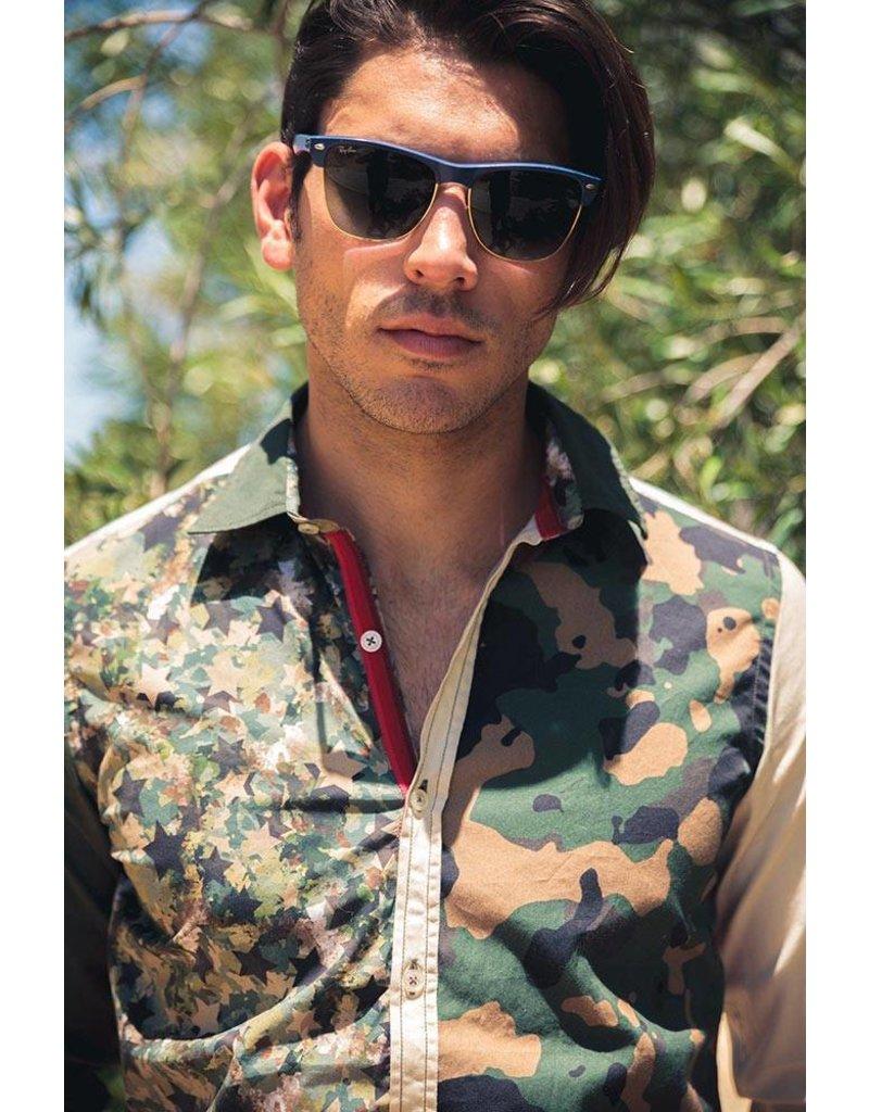 Lucky de Luca ® Shirt Camouflage Fantasy