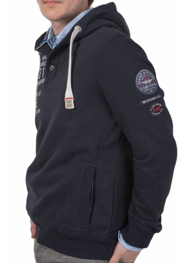 ® Hoodie Sweater Aircheck, Donkerblauw