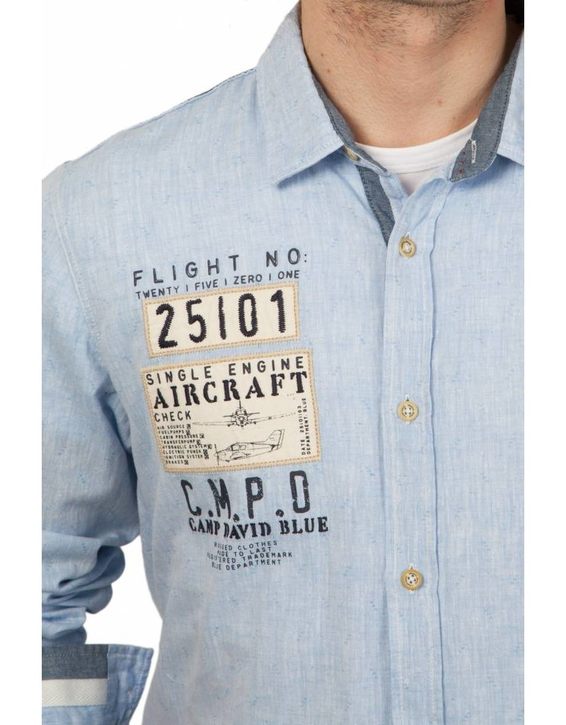 Camp David ® Shirt Aircraft