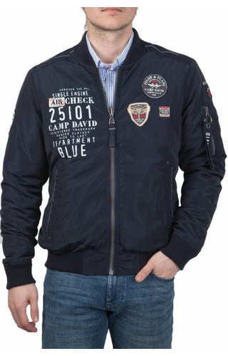 Camp David Camp David ® Jas Aircheck, Donkerblauw