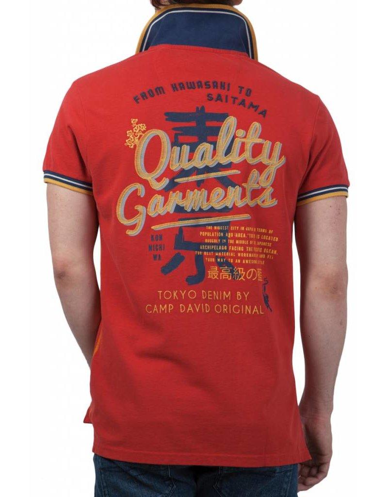 Camp David ® Poloshirt Tokyo Lifestyle