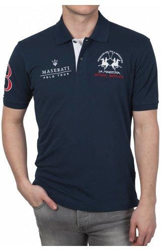 La Martina La Martina ® Poloshirt Maserati, Donkerblauw