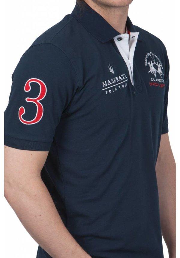 ® Poloshirt Maserati, Donkerblauw