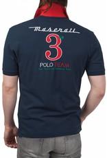 La Martina ® Poloshirt Maserati, Donkerblauw