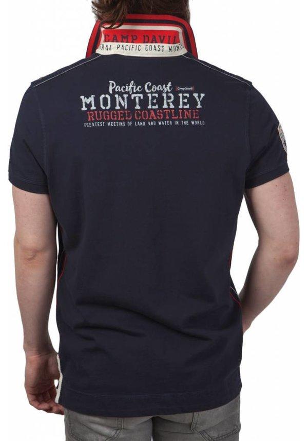 ® Poloshirt Monterey, donkerblauw