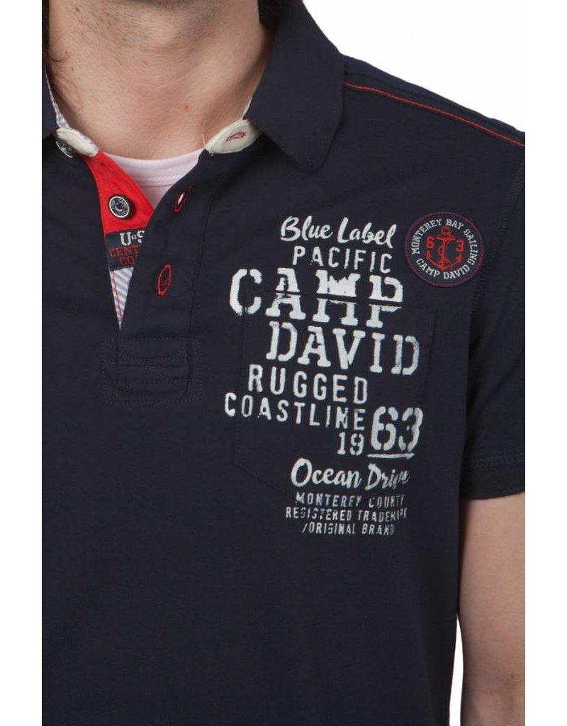 Camp David ® Poloshirt Monterey, donkerblauw