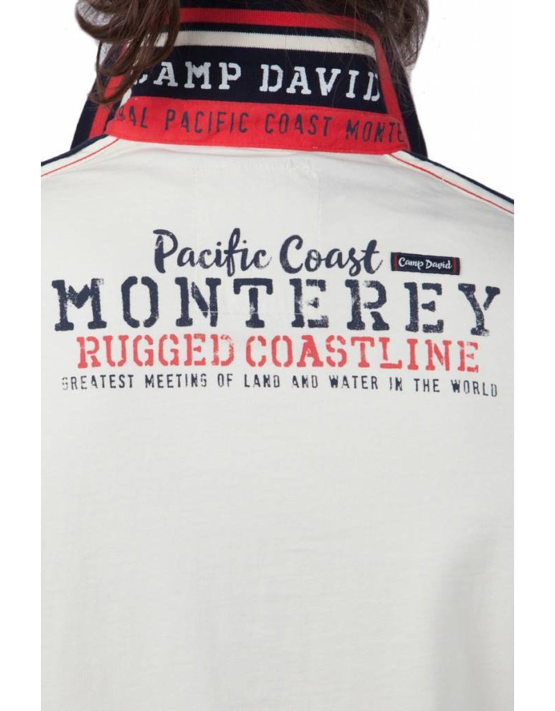Camp David ® Poloshirt Monterey, Ivory