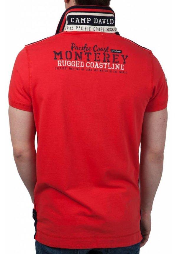 ® Poloshirt Monterey, Rood