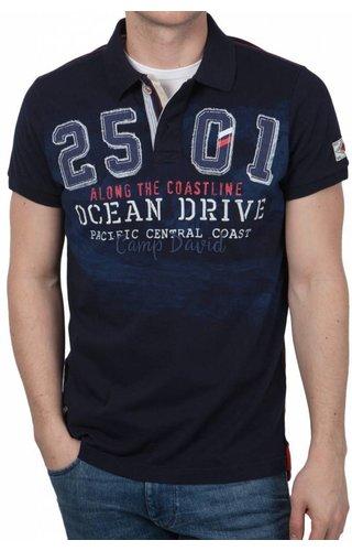 Camp David Camp David ® Poloshirt Ocean Drive, donkerblauw