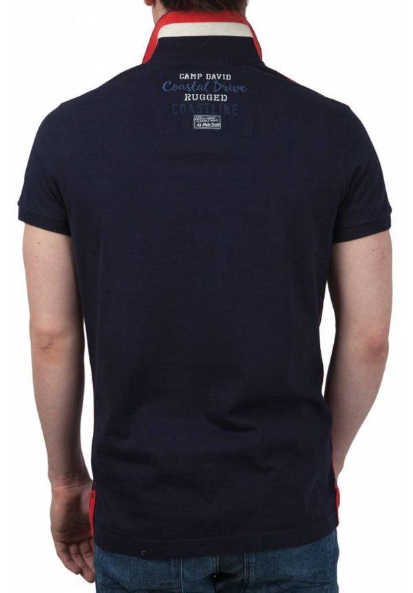 ® Poloshirt Ocean Drive, donkerblauw