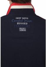 Camp David ® Poloshirt Ocean Drive, donkerblauw