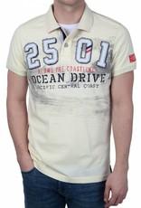 Camp David ® Poloshirt Ocean Drive, Ivory