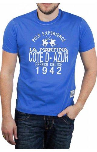 La Martina La Martina ® T-Shirt Cote D-Azur, Plus Size