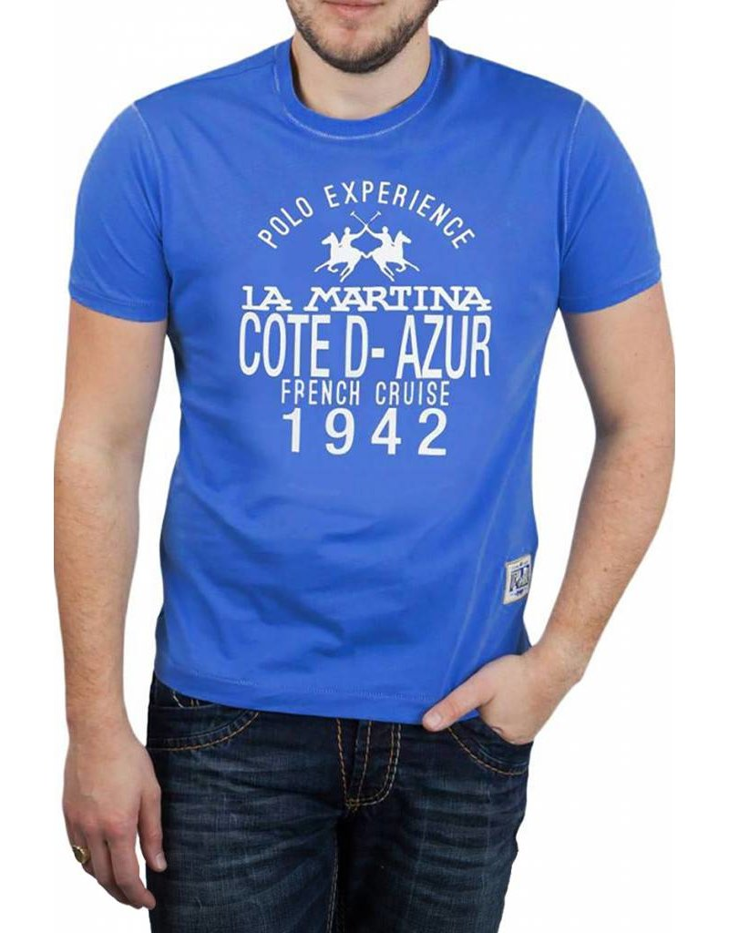 La Martina ® T-Shirt Cote D-Azur, Plus Size