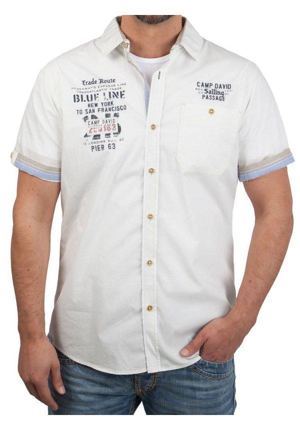 ® Shirt Blue Line