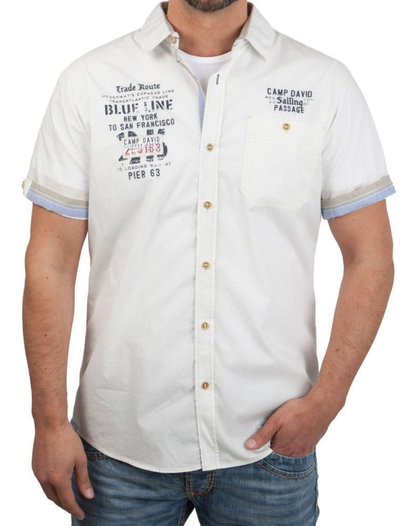 Camp David ® Shirt Blue Line