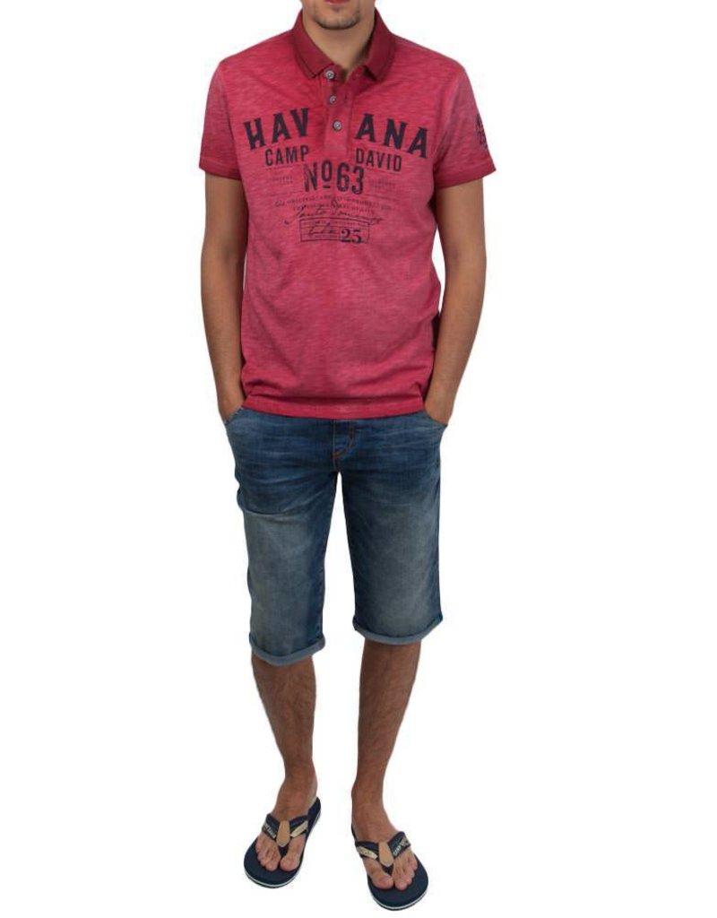 Camp David ® Poloshirt Havana