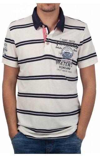 Camp David Camp David ® Poloshirt Tropical Water