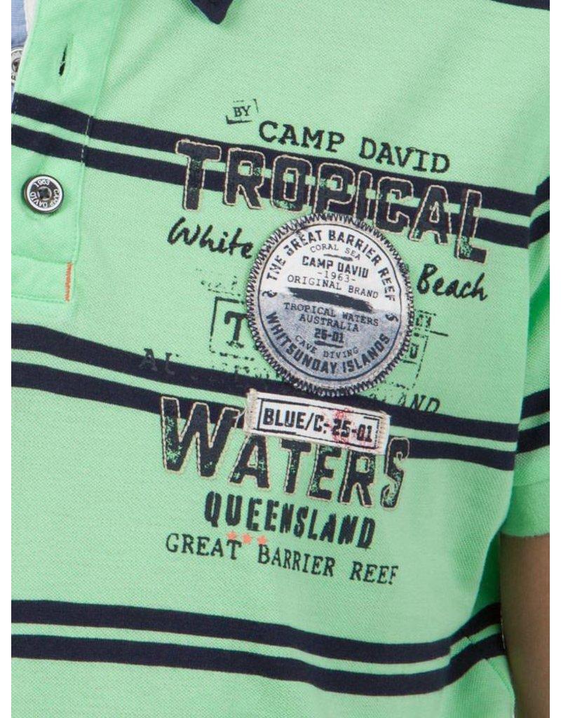 Camp David ® Poloshirt Tropical Water