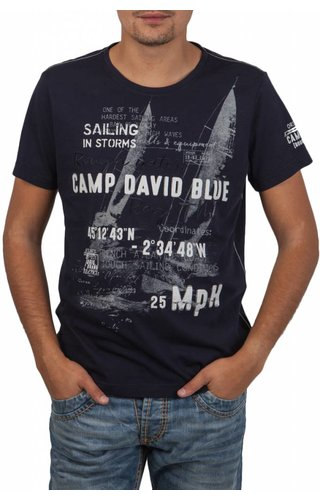 Camp David Camp David ® T-Shirt Sailing